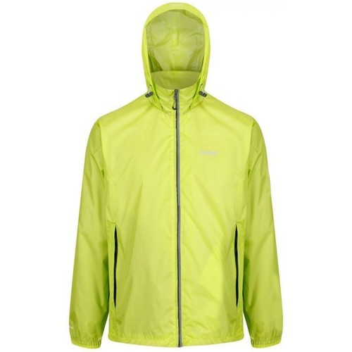 Clothing Men Jackets Regatta Lyle IV Lightweight Waterproof Packaway Walking Jacket Green Green