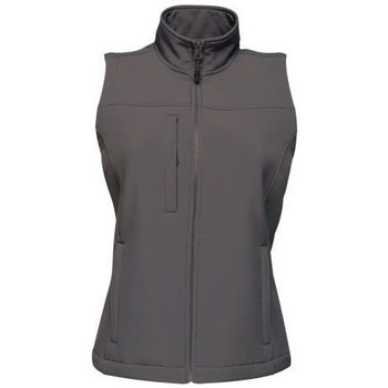 Clothing Women Jackets / Cardigans Professional FLUX Soft-Shell Bodywarmer Grey