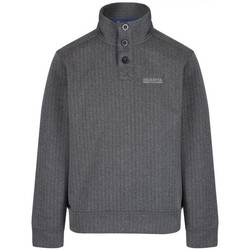 Clothing Men Fleeces Regatta Men's Lucan Herringbone Effect Fleece Grey