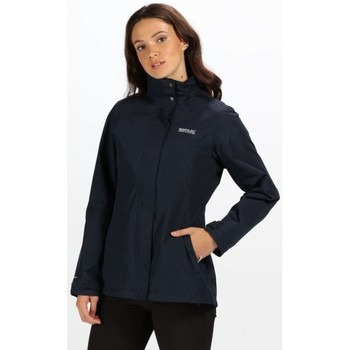 Clothing Women coats Regatta Daysha Lightweight Waterproof Jacket Blue Blue