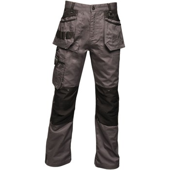 Clothing Men Cargo trousers Professional Incursion Work Trousers Grey Grey