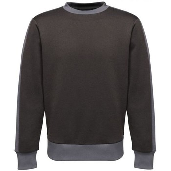 Clothing Men Sweaters Professional CONTRAST Crewneck Sweatshirt Black