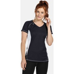 Clothing Women Short-sleeved t-shirts Professional BEIJING Lightweight TShirt Navy Blue Blue