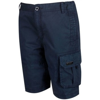 Clothing Children Shorts / Bermudas Regatta Shorewalk Coolweave Cargo Shorts Blue Blue