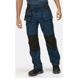 Clothing Men Cargo trousers Professional Incursion Holster Work Trousers Blue Blue