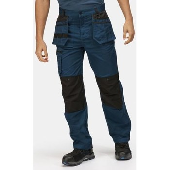 Clothing Men Cargo trousers Professional Incursion Work Trousers Blue Blue