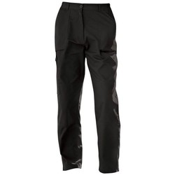 Clothing Women Chinos Professional New Action Water-Repellent Trousers Lichen Black Black
