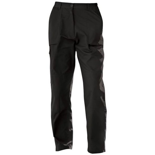 Clothing Women Chinos Professional New Action Water-Repellent Trousers Black
