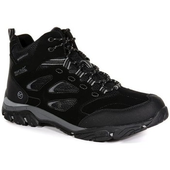 Shoes Men Hi top trainers Regatta HOLCOMBE IEP Mid Walking Boots Navy Granite Black Black