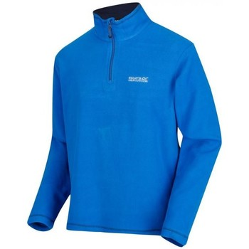Clothing Men Fleeces Regatta THOMPSON Half-Zip Fleece Blue
