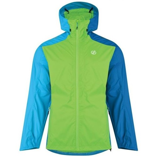 Clothing Men Macs Dare 2b Men's Propel Lightweight Packaway Waterproof Shell Jacket Green