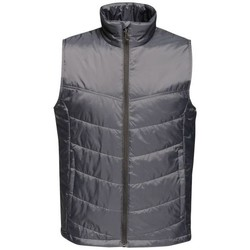 Clothing Jackets / Cardigans Professional STAGE II Insulated Bodywarmer Seal Grey Grey Grey