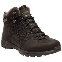 Shoes Men Walking shoes Regatta Samaris II Mid Waterproof Walking Boots Black Black
