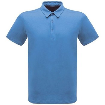 Clothing Men Short-sleeved polo shirts Professional CLASSIC PolyCotton Polo TShirt Blue