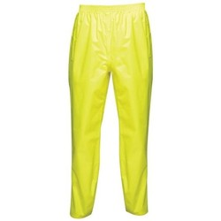 Clothing Chinos Professional Pro Pack Away Breathable Waterproof Overtrousers Yellow Yellow
