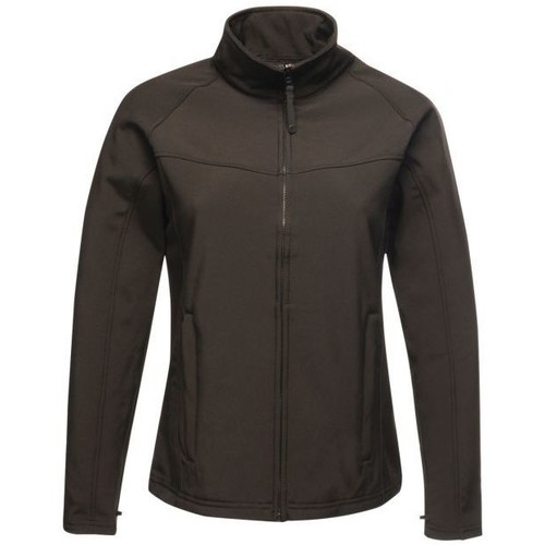 Clothing Women Jackets Professional UPROAR Interactive Softshell Jacket Black Black Black