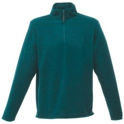 Clothing Men Fleeces Regatta Micro Zip Neck Fleece Green Green