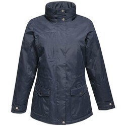 Clothing Women Parkas Professional DARBY III Waterproof Insulated Jacket Navy Blue Blue