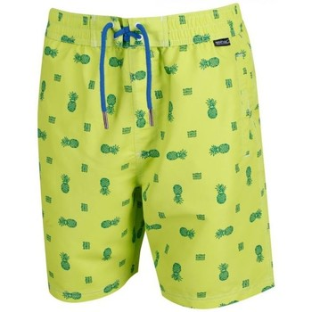 Clothing Men Trunks / Swim shorts Regatta HADDEN II Board Shorts Green