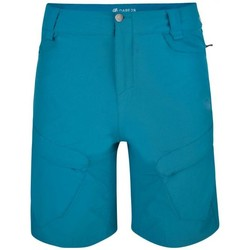 Clothing Men Shorts / Bermudas Dare 2b Tuned In II Multi Pocket Walking Shorts Blue Blue