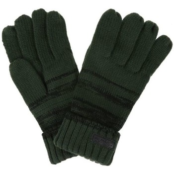Clothes accessories Men Gloves Regatta Davion Knitted Gloves Burgundy Green Green