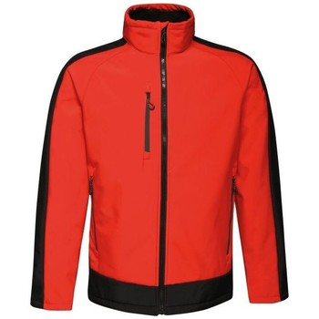 Clothing Fleeces Professional CONTRAST Waterproof Softshell Jacket Seal Grey Black Red Red