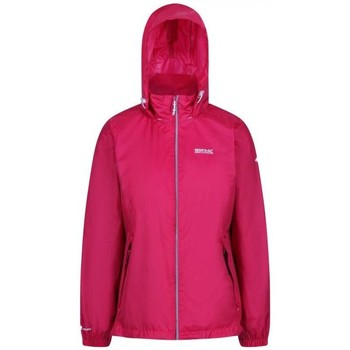 Clothing Women coats Regatta Corinne IV Lightweight Waterproof Jacket Pink Pink