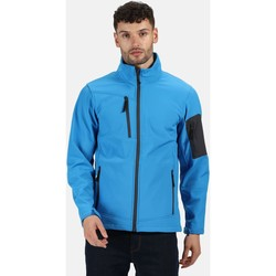 Clothing Men Track tops Professional ARCOLA Waterproof Softshell Jacket Seal Grey Blue Blue