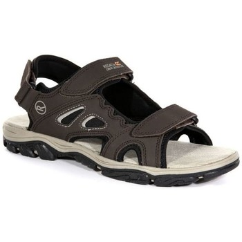 Shoes Men Outdoor sandals Regatta Holcombe Vent Sandals Brown Brown