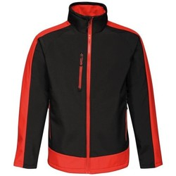 Clothing Track tops Professional CONTRAST Waterproof Softshell Jacket Seal Grey Black Black Black