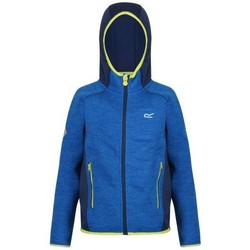 Clothing Boy Fleeces Regatta Kids' Dissolver II Full Zip Hooded Fleece Blue