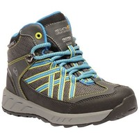 Shoes Children Mid boots Regatta Samaris Waterproof Walking Boots Grey Grey