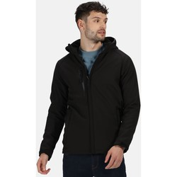Clothing Men Jackets Professional REPELLER Softshell Jacket Black