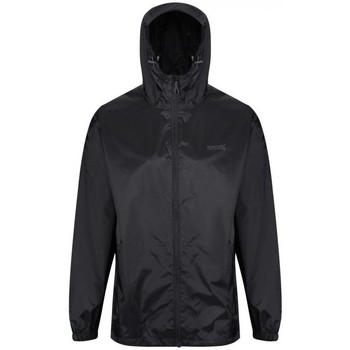 Clothing Men Macs Regatta Pack-It Jacket III Waterproof Packaway Jacket Black Black