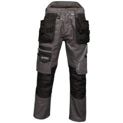 Clothing Men Cargo trousers Professional Execute Multiple Pocket Holster Work Trousers Blue Wing Grey Grey