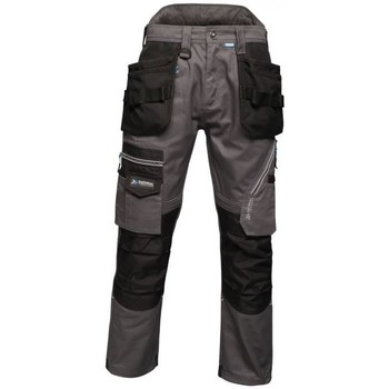 Clothing Men Cargo trousers Professional Execute Holster Premium Work Trousers Grey Grey
