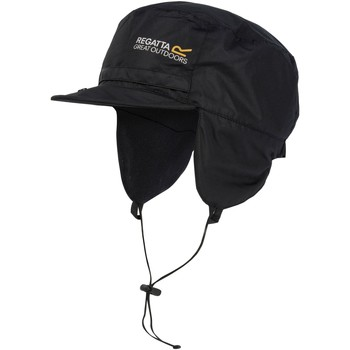 Clothes accessories Men Hats Regatta Padded Igniter Waterproof Trapper Hat Black Black