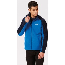 Clothing Men Fleeces Regatta Hedman II Heavyweight Full Zip Fleece Blue Blue