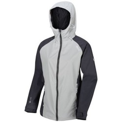 Clothing Women Coats Regatta Atten Waterproof Shell Jacket Grey Grey