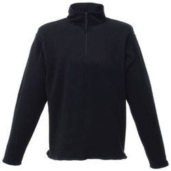 Clothing Men Fleeces Regatta Micro Zip Neck Fleece Black Black