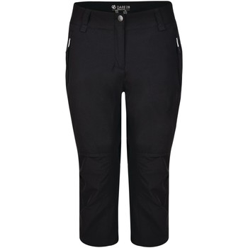 Clothing Women Cropped trousers Dare 2b Melodic II 43558 Length Walking Trousers Black Black