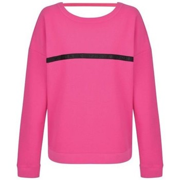 Clothing Women sweaters Dare 2b Resilience Cutout Neck Sweater Pink Pink