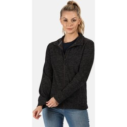 Clothing Women Fleeces Professional THORNLY Full-Zip Fleece Navy Marl Grey Grey