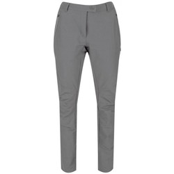 Clothing Women Chinos Regatta Highton Water-Repellent Stretch Walking Trousers Grey