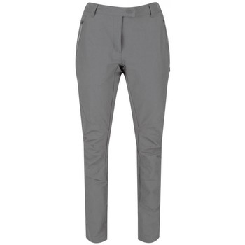 Clothing Women Chinos Regatta Highton Water-Repellent Stretch Walking Trousers Seal Grey Grey Grey