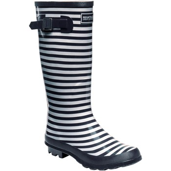 Shoes Women Wellington boots Regatta Fairweather II Wellingtons Blue Blue