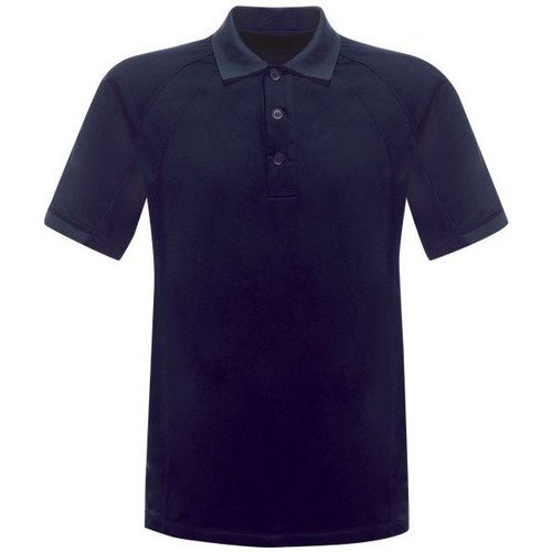 Clothing Men Short-sleeved polo shirts Professional COOLWEAVE Wicking Polo TShirt Silver Grey Blue Blue