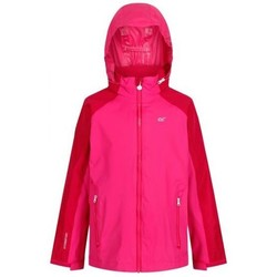 Clothing Children sweaters Regatta Gabiel Waterproof Shell Jacket Pink Pink