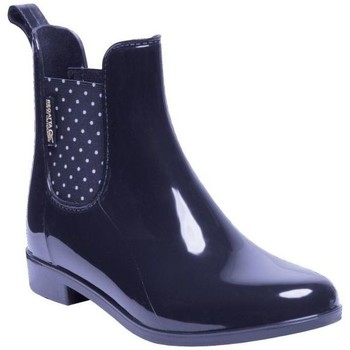 Shoes Women Wellington boots Regatta LADY HARRIETT Wellingtons Magent Black Blue Blue