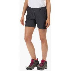 Clothing Women Shorts / Bermudas Regatta HIGHTON Mid Shorts Grey